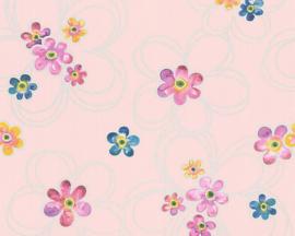 bloemen behang 30460-1
