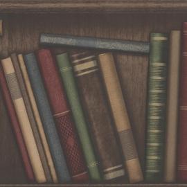 Behangpapier antieke boeken 2604-21229