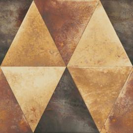 Dutch Hexagone Driehoek behang L62505