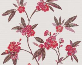 Asien fusion behang chinees japans oosters bloemen 37472-3