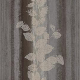 Bloemen Behang Bruin 424706
