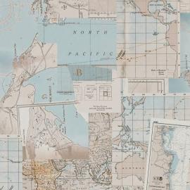 Rivièra Maison behang 18392 Oceans