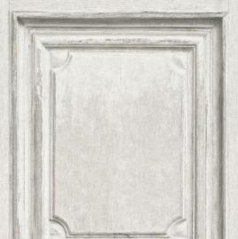 Houten Panelen Grijs Behang 524444