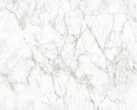 grijs marmer behangpapier 36157-3
