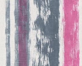 Schöner Wohnen strepen behangpapier 94425-2 roze