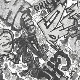 Graffiti Behang WU17641