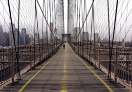 Fotobehang Brooklyn Bridge 97289