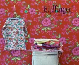 Behangpapier Bloemen Roze Rood 397851
