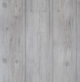 Sloophout Behang Grijs 49754