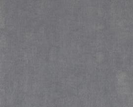 Chacran 18457 uni grijs textiel effect
