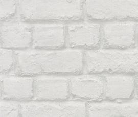 Behangpapier Stenen  Grijs 587203