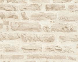 Steen behang beige 35580-3