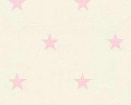 sterren behang rose 35991-5