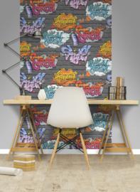Dutch Freestyle behangpapier  L179-01 Graffiti