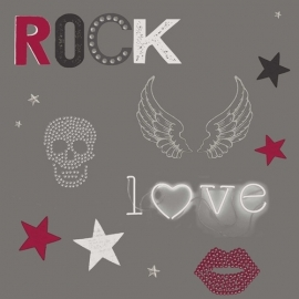 Rock Love Behang WU17626