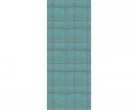Surfing & Sailing 3023-35 ruiten Paneelbehangpapier blauw