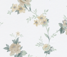 Behangpapier Rasch Sophie Charlotte behang bloemen  440614