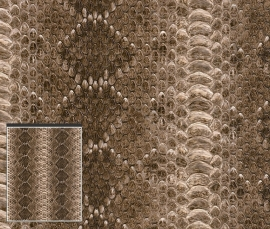 Behangpapier Slangenprint 473810