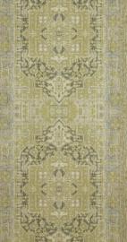 Perzische styl barok groen behang retro 218031