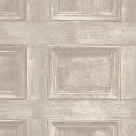 Behangpapier houten paneel 2604-21228
