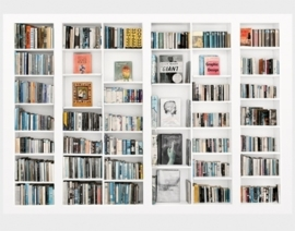 Fotobehang Library 230