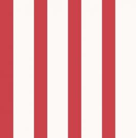 Carousel kinder strepen behang DL21147 rood