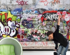 Fotobehang Cool Graffiti 162