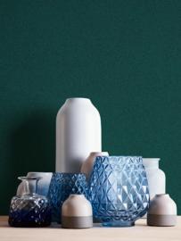 Uni blauw behangpapier 37555-5
