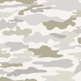 Camouflage behang leger 27151