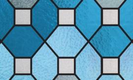 glas in lood statisch raamfolie raamdeco 67,5 cm ptx22