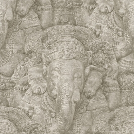 Indiaanse God Genesha Behang 525519