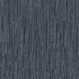 Behangpapier Houtstructuur Zwart Antraciet 6940-44