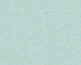 Behangpapier turquoise 96113-6