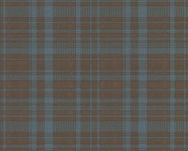 Schöner Wohnen ruiten behangpapier 2676-34 blauw
