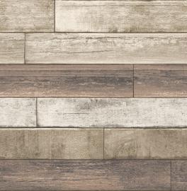 Houten Planken Behang FD22347