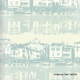 reflection teal keuken behang Arthouse Options 2 662700
