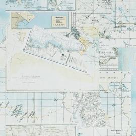Rivièra Maison behang 18270 Oceans