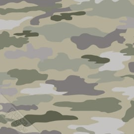 Camouflage behang leger 27148