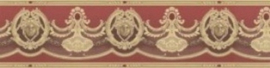 versace rand behangrand rood goud xx15