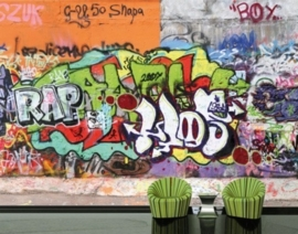 Fotobehang Graffiti Wall 31