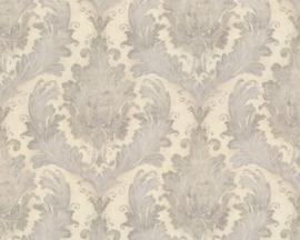 Barok glitter behang goud grijs 32996-2