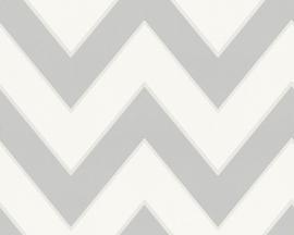 Metropolis trendy behangpapier 93943-5 grijs
