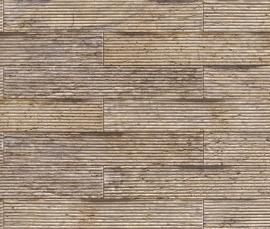 Behangpapier Bruin Stenen Behang  837810
