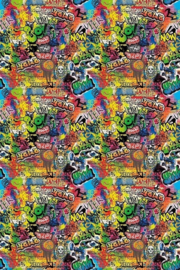 behangpapier Graffiti Wallpaper INK6050