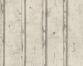 Behangpapier Hout  Bruin 95370-2