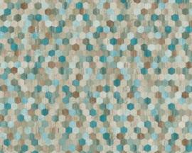 retro behangpapier speels textielprint 37463-2