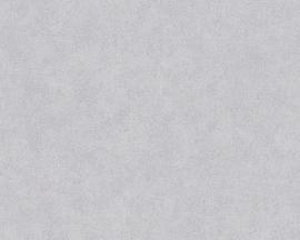 Behangpapier Uni Grijs 305102