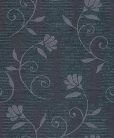 glitter bloemen vlies behang glamourn rasch 404203