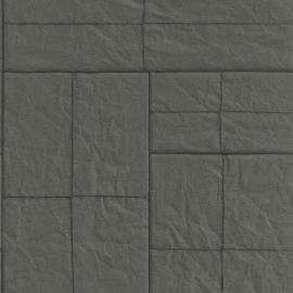 Zwarte Blokken Behang 524314