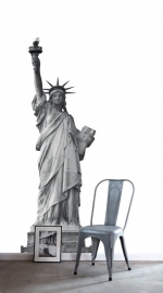 Denim & Co. PhotowallXL statue of liberty fotobehang 157701